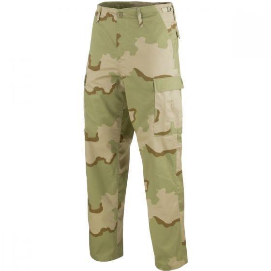 Mil-Tec pantaloni da combattimento Ranger BDU in Desert 3 colori