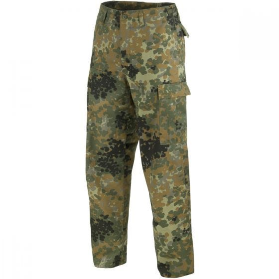 Mil-Tec pantaloni da combattimento Ranger BDU in Flecktarn