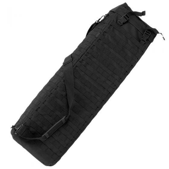Mil-Tec custodia per fucile con doppia imbracatura in nero