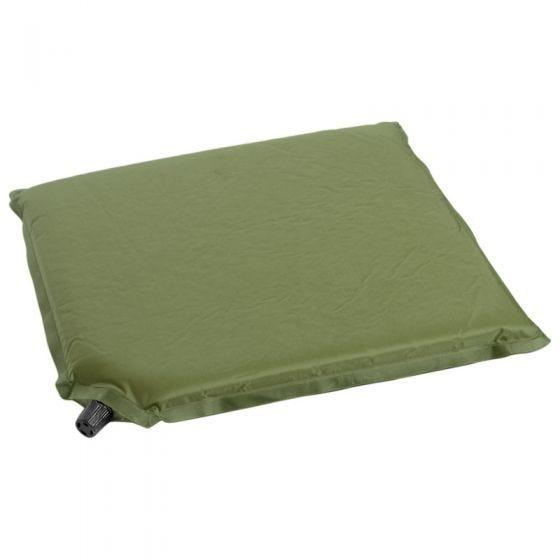 Mil-Tec cuscino per seduta autogonfiante in verde oliva