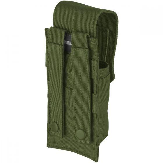 Mil-Tec portacaricatore singolo M4/M16con attacco MOLLE in verde oliva