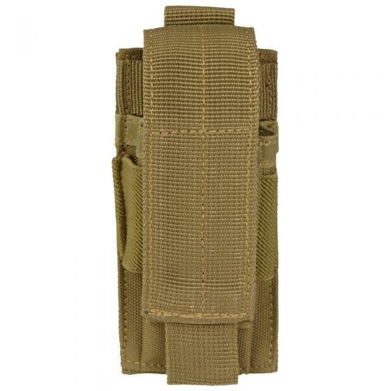 Mil-Tec portacaricatore singolo per pistola in Coyote