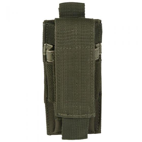Mil-Tec portacaricatore singolo per pistola in verde oliva