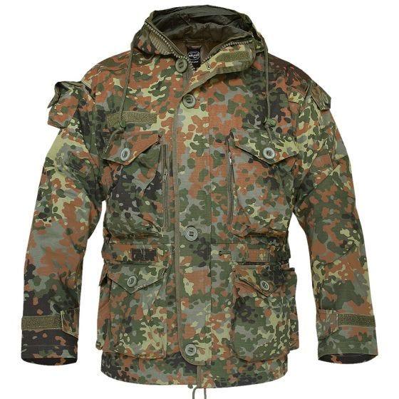 Mil-Tec giacca leggera smock in Flecktarn