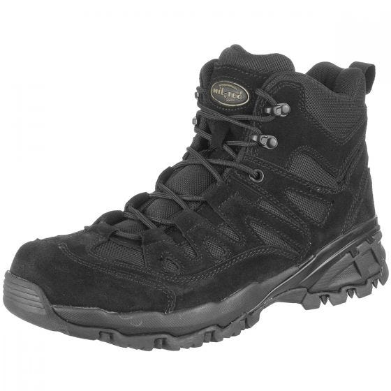 Mil-Tec stivali tattici Squad Boots in nero