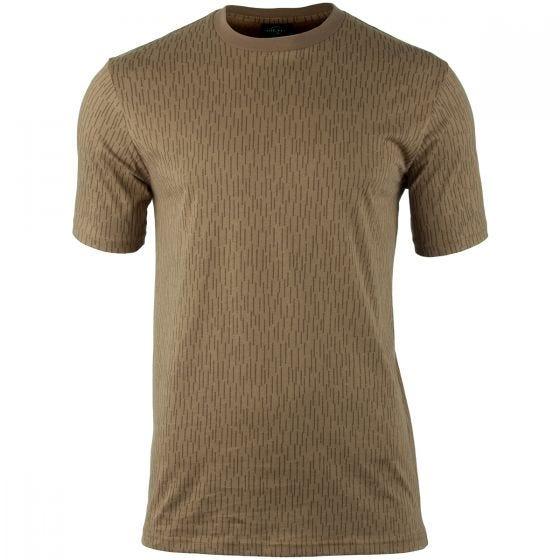 Mil-Tec T-shirt in Strichtarn Camo