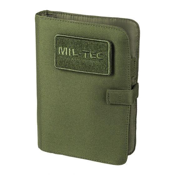 Mil-Tec taccuino piccolo Tactical in verde oliva