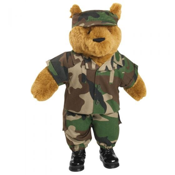 Mil-Tec completo Teddy Bear large in CCE