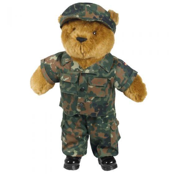 Mil-Tec completo Teddy Bear large in Flecktarn