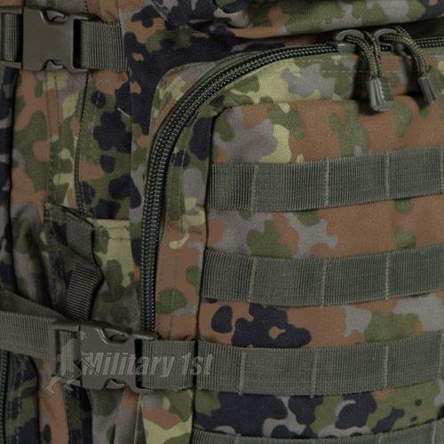 Mil-Tec zaino da assalto large US MOLLE in Flecktarn