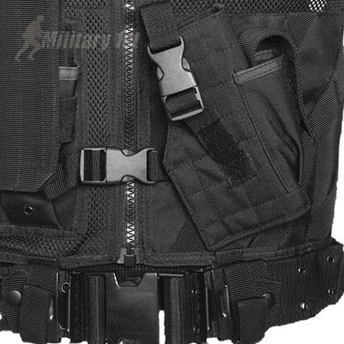 Mil-Tec gilet tattico USMC in nero