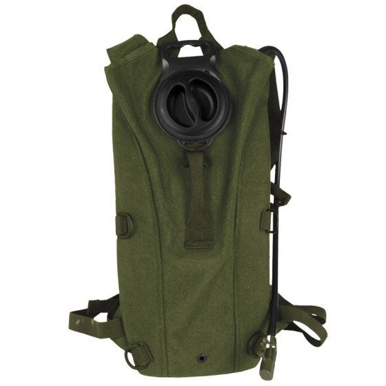 Mil-Tec zaino con tasca per idratazione Mil Spec in verde oliva