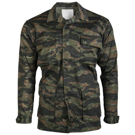 Mil-Tec camicia BDU Combat in Tiger Stripe