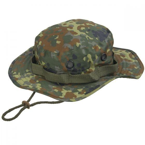 Mil-Tec cappello jungle hat in Flecktarn