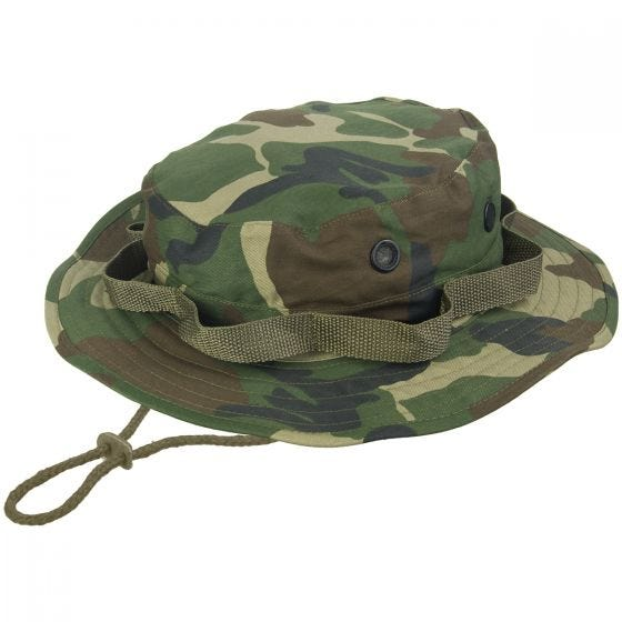 Mil-Tec cappello jungle hat in Woodland