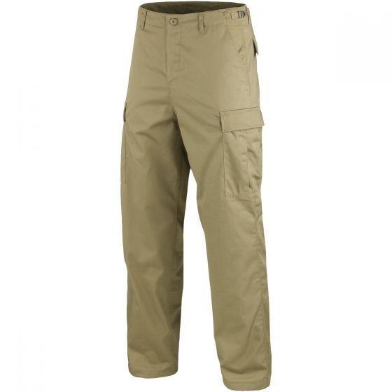 Mil-Tec pantaloni da combattimento Ranger BDU in cachi