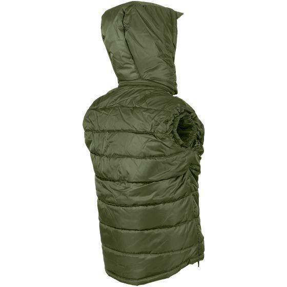Mil-Tec gilet Pro con cappuccio removibile in verde oliva