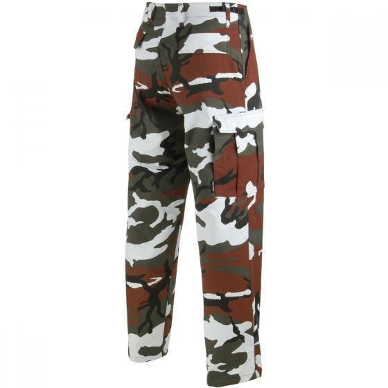 Mil-Tec pantaloni da combattimento Ranger BDU in Red Camo