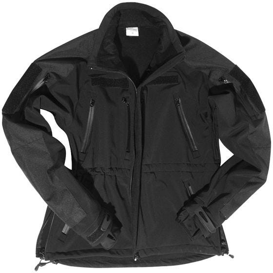 Mil-Tec giacca softshell in nero
