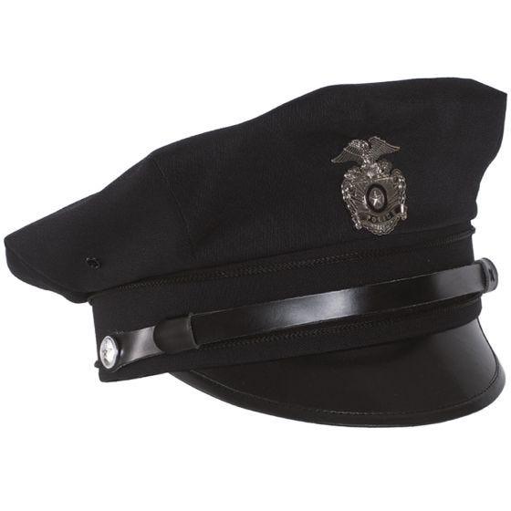 Mil-Tec cappello con visiera polizia US in blu scuro