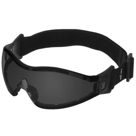 Mil-Tec occhiali protettivi Commando per parapendio/paracadutismo lenti scure