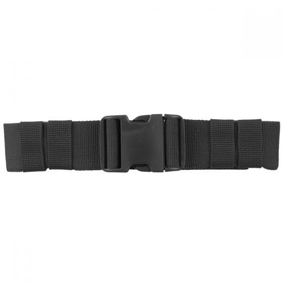 Mil-Tec cintura esercito con fibbia ad incastro 50 mm in nero