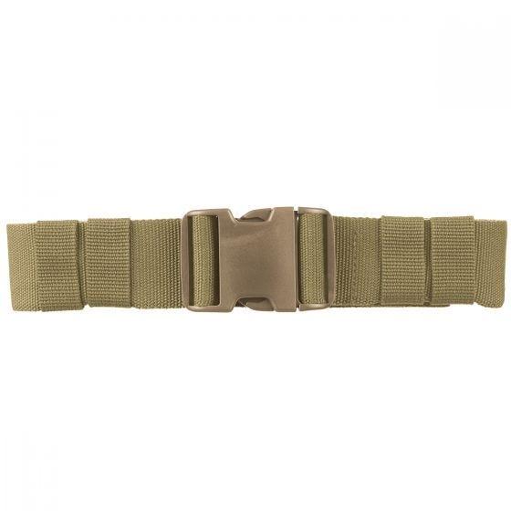 Mil-Tec cintura esercito con fibbia ad incastro 50 mm in Coyote