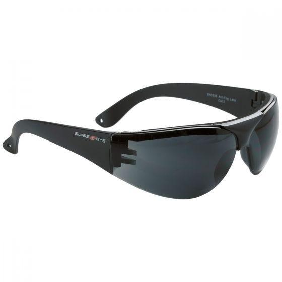 Swiss Eye occhiali protettivi Outbreak con montatura in nero / lenti fumo