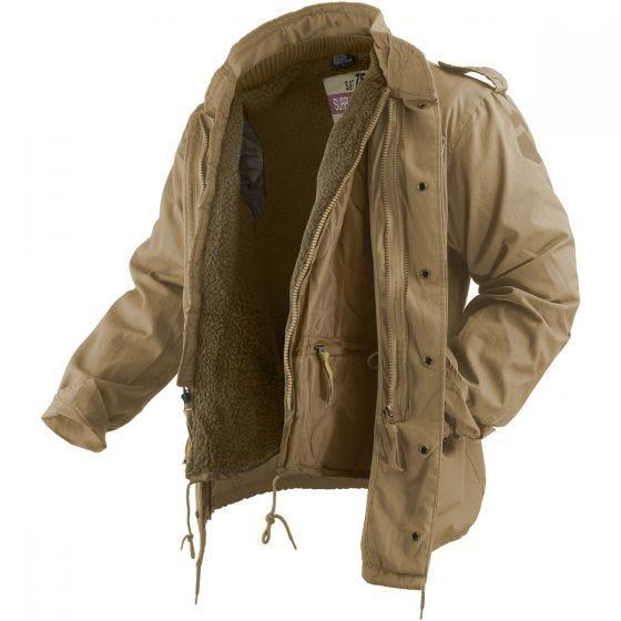 Surplus giacca Regiment M65 in Coyote