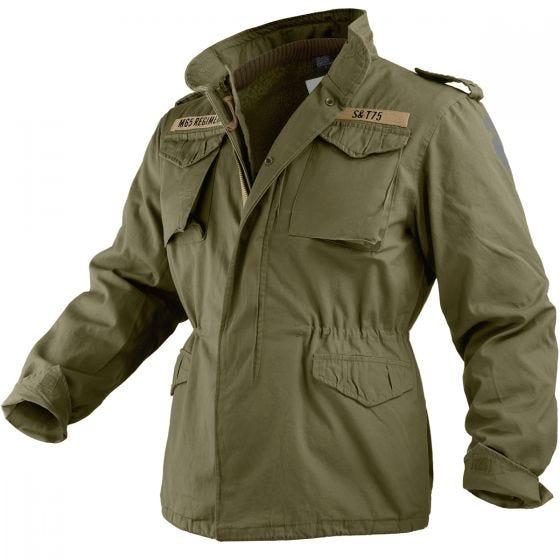 Surplus giacca Regiment M65 in verde oliva