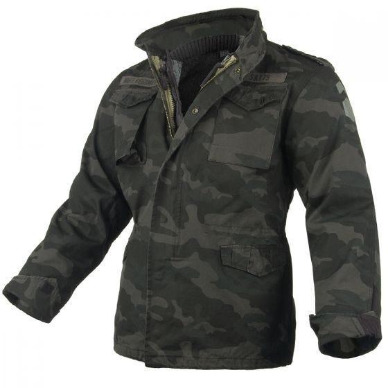 Surplus giacca Regiment M65 in Black Camo