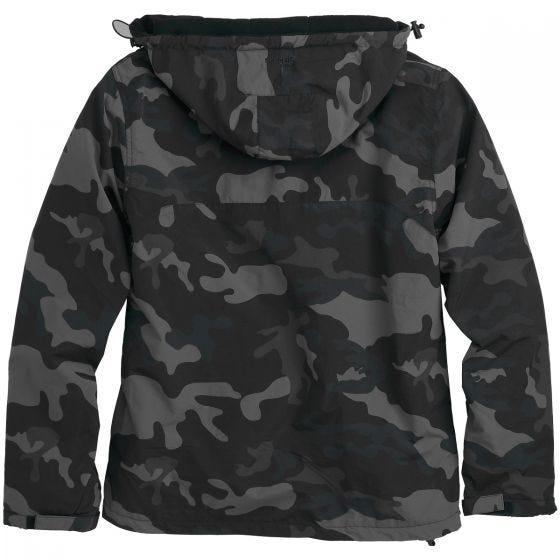 Surplus giacca a vento con zip in Black Camo