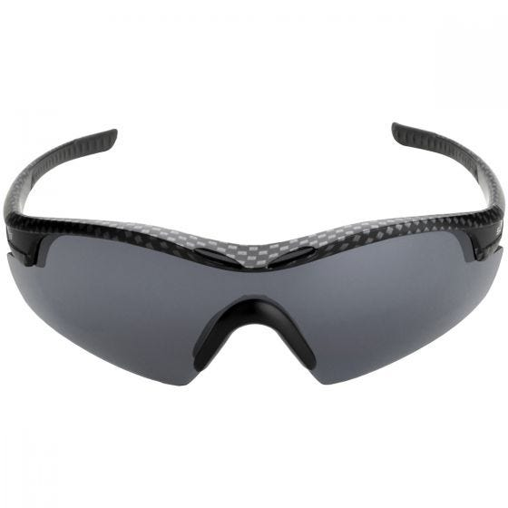 Swiss Eye occhiali da sole Novena - 3 lenti / montatura in nero e carbone opaco