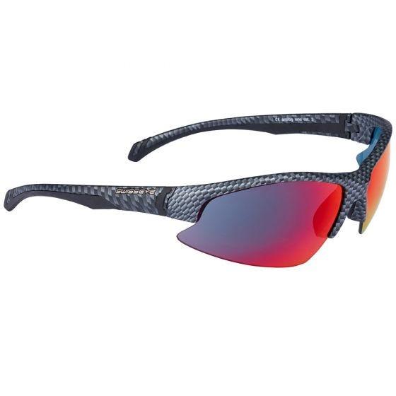 Swiss Eye occhiali da sole Flash con montatura in Carbon