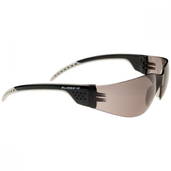 Swiss Eye occhiali da sole Outbreak Luzzone con montatura in nero/argento