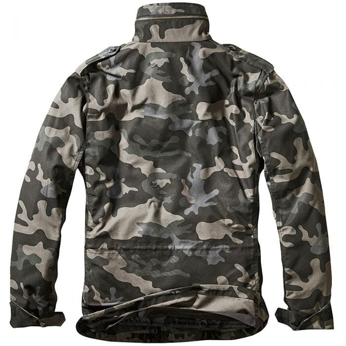 Brandit giacca M-65 Classic in Dark Camo