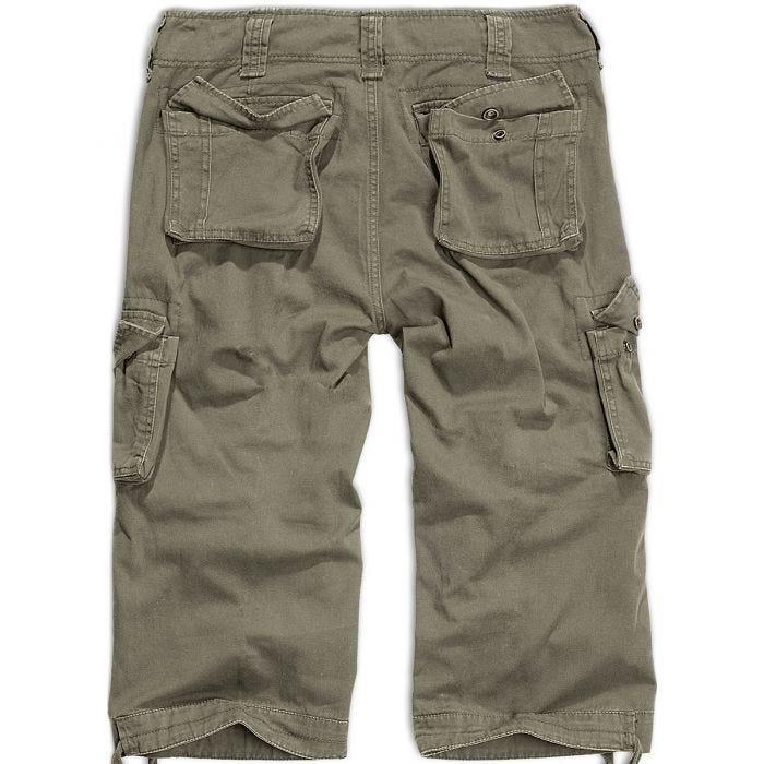 Brandit shorts Urban Legend a 3/4 in verde oliva
