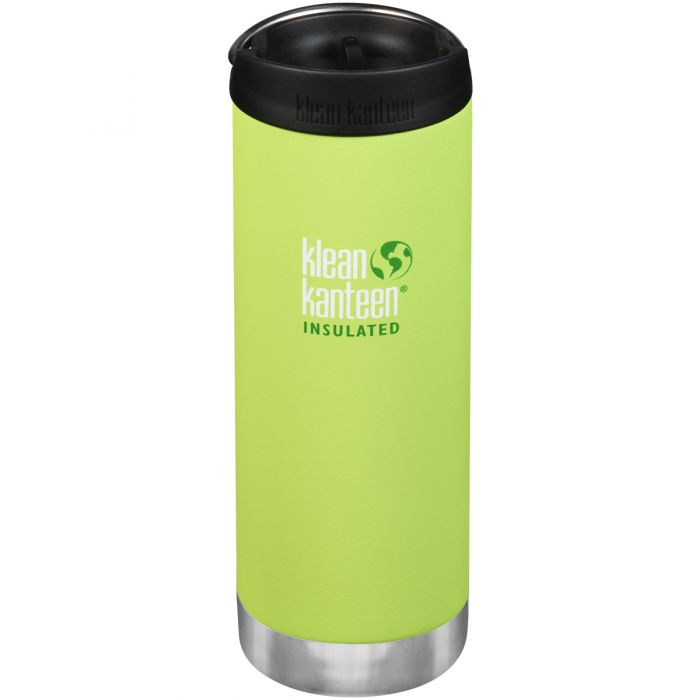 Klean Kanteen TKWide 473ml Insulated Bottle Cafe Cap Juicy Pear