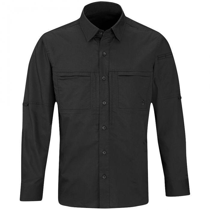 Propper camicia da uomo HLX a maniche lunghe in nero