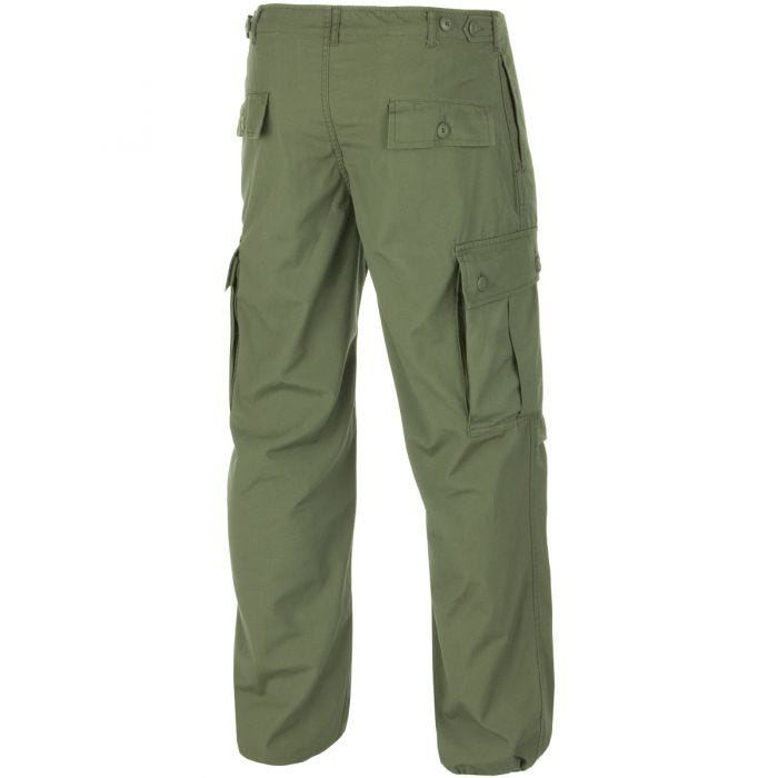 Teesar pantaloni Jungle US M64 Vietnam in verde oliva