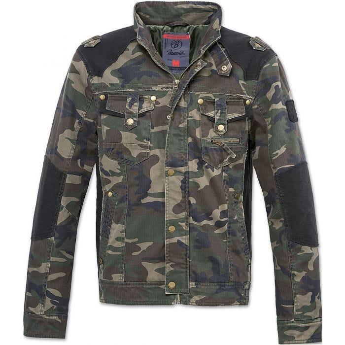 Brandit giacca Blake Vintage in Woodland
