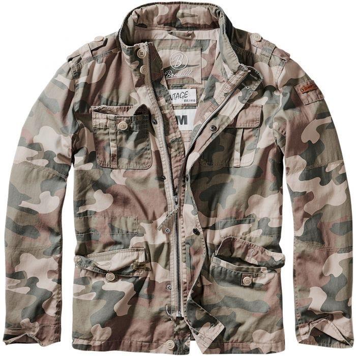 Brandit giacca Britannia in Light Woodland
