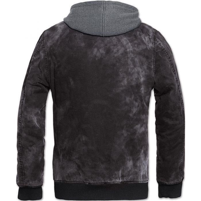 Brandit - giacca Dayton effetto slavato in nero