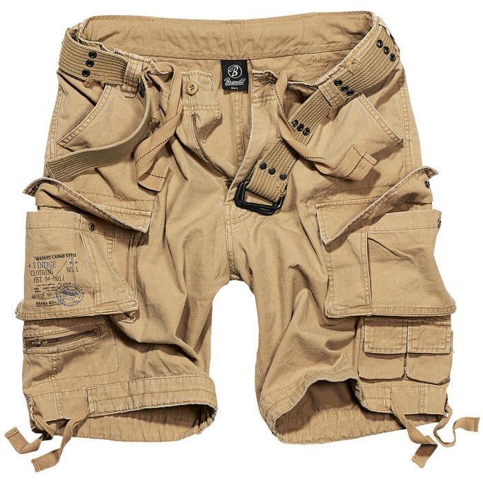 Brandit shorts Savage Vintage in beige