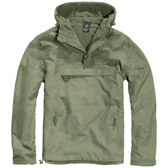 Brandit giacca a vento in verde oliva