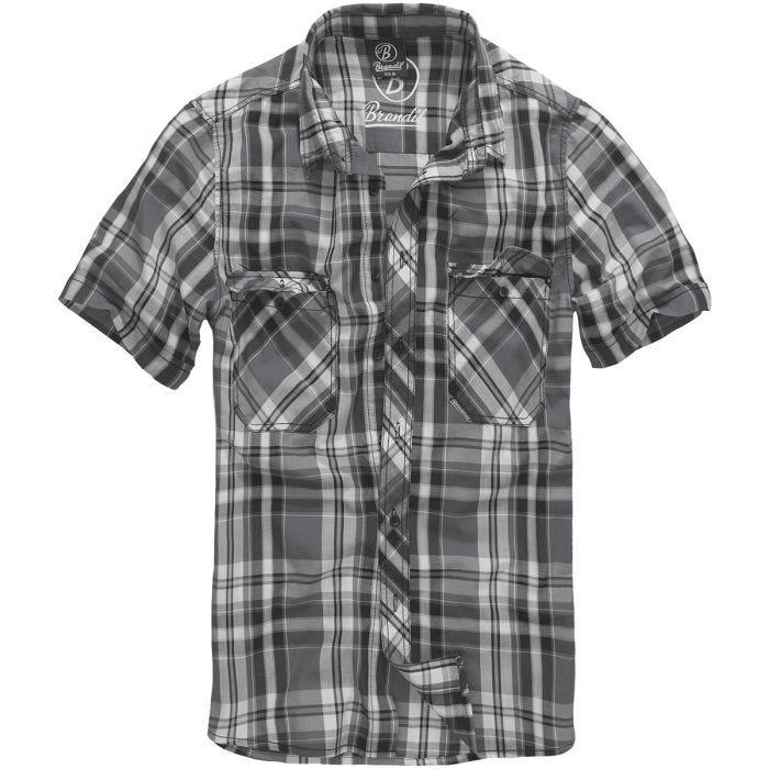 Brandit camicia Roadstar in nero/Anthracite
