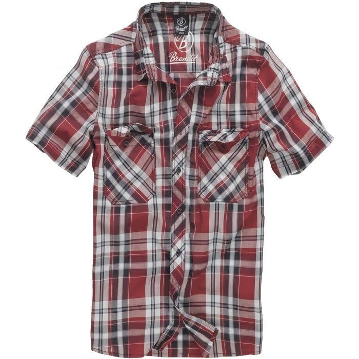 Brandit camicia Roadstar in rosso