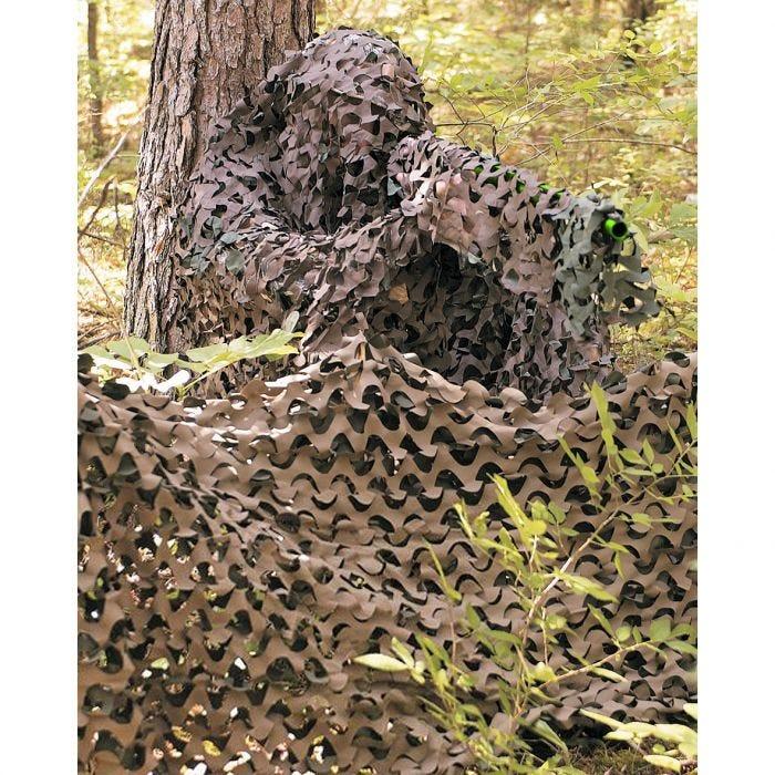 Camosystems rete mimetica camouflage 3 x 2,4 m in Woodland