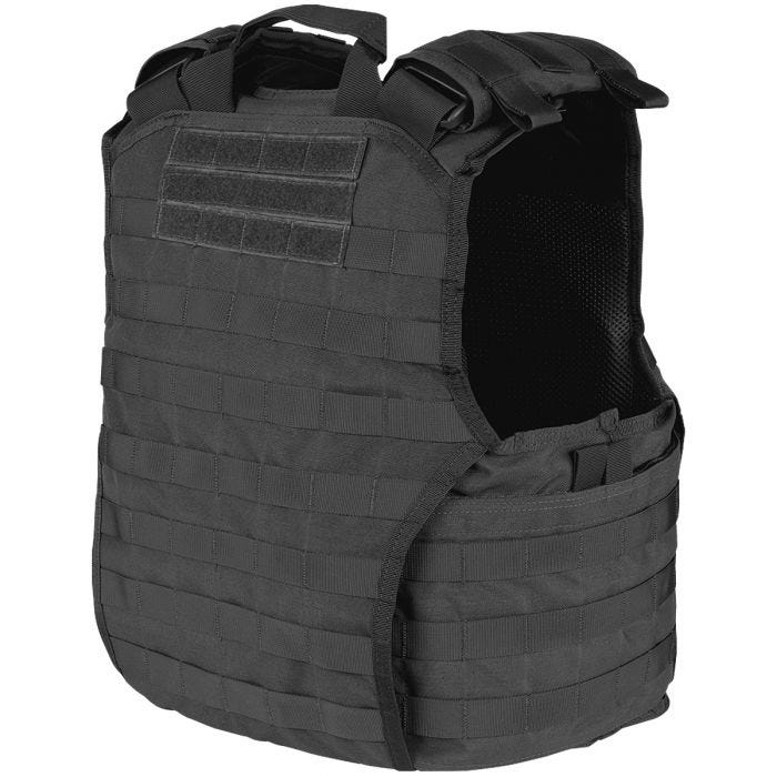 Condor plate carrier Exo Gen II in nero