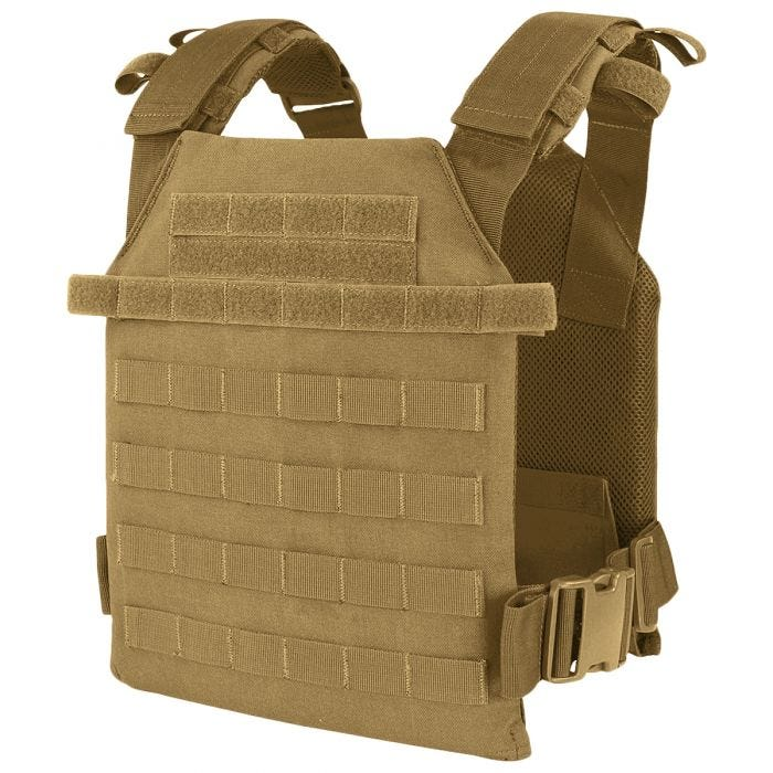 Condor plate carrier Sentry leggero in Coyote Brown